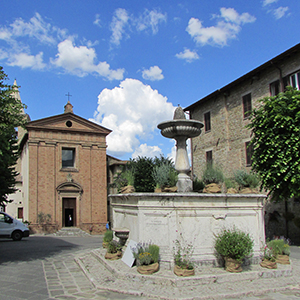 Fontana in Piazza Cavour