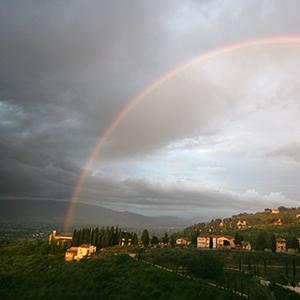 Bettona sotto l'arcobaleno