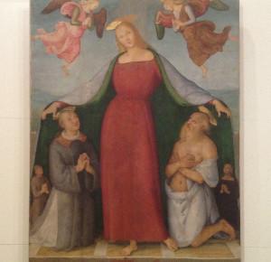 Perugino, Madonna della Misericordia