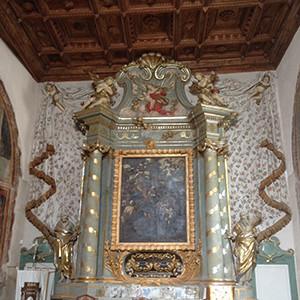 San Andrea altare