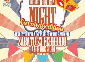 Birra Burger Night – Carnival edition