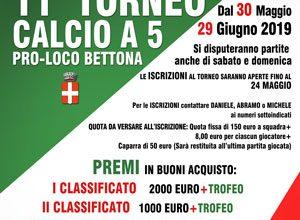 11° Torneo di Calcio a 5 Pro Loco Bettona